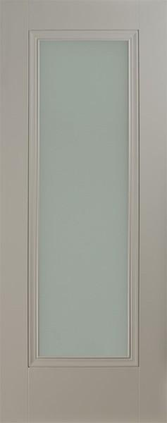 Silk Grey 1p lite frosted beveled Door