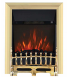 Electric Inset Fires Brass