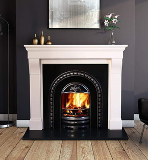 Astrada Marble Fireplace - BPM SUPPLIES