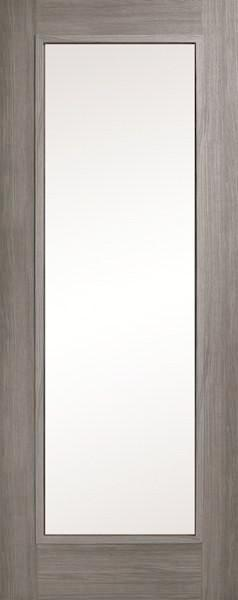 Daiken Grey Single Panel Clear Glass Shaker