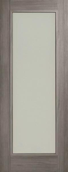 Daiken Grey Single Panel Frosted Glass Shaker