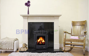 "Oslo Marble Fireplace 48"" & 44"""