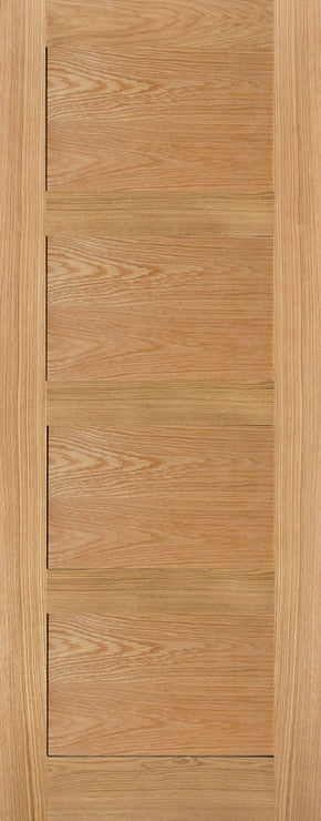 4 Panel Oak Shaker Internal Door