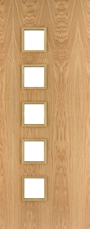 HP19G Oak Internal Door