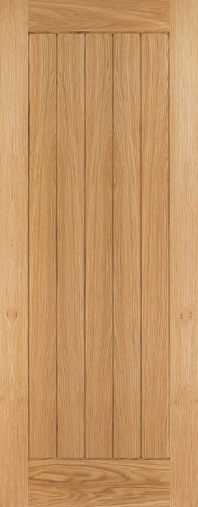 HP22 Oak Shaker Internal Door