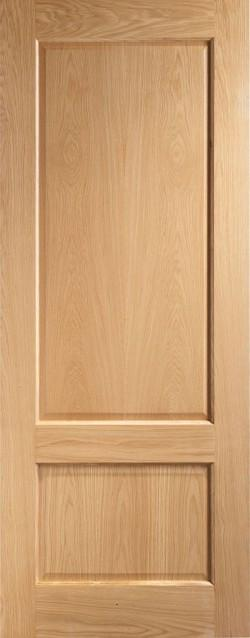 2 Panel Oak Shaker Internal Door
