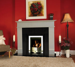 Berlin Marble Fireplace 48""