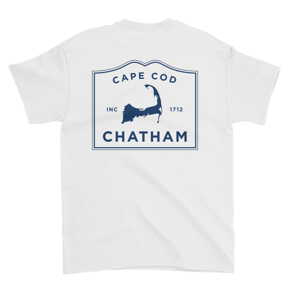 Chatham Cape Cod Short sleeve t-shirt (front & back)