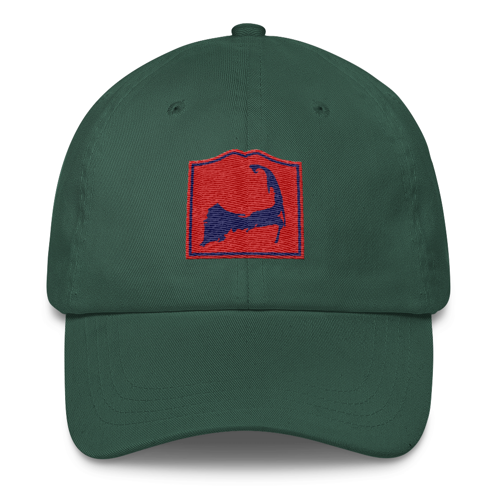 Forest Green Cape Cod Insta Hat