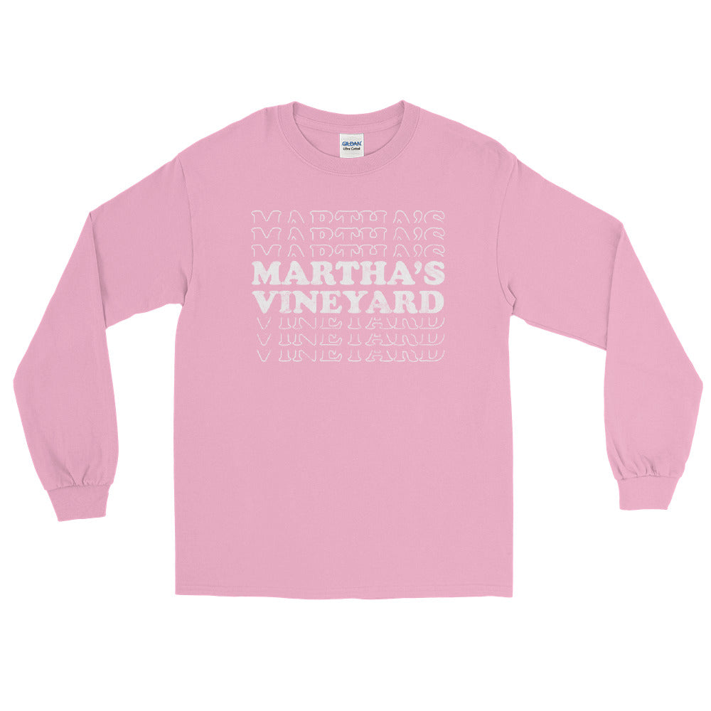Martha's Vineyard Retro Long Sleeve Shirt