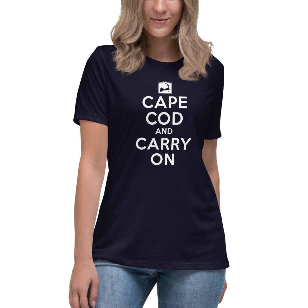 Cape Cod And Carry On Women's Relaxed T-Shirt