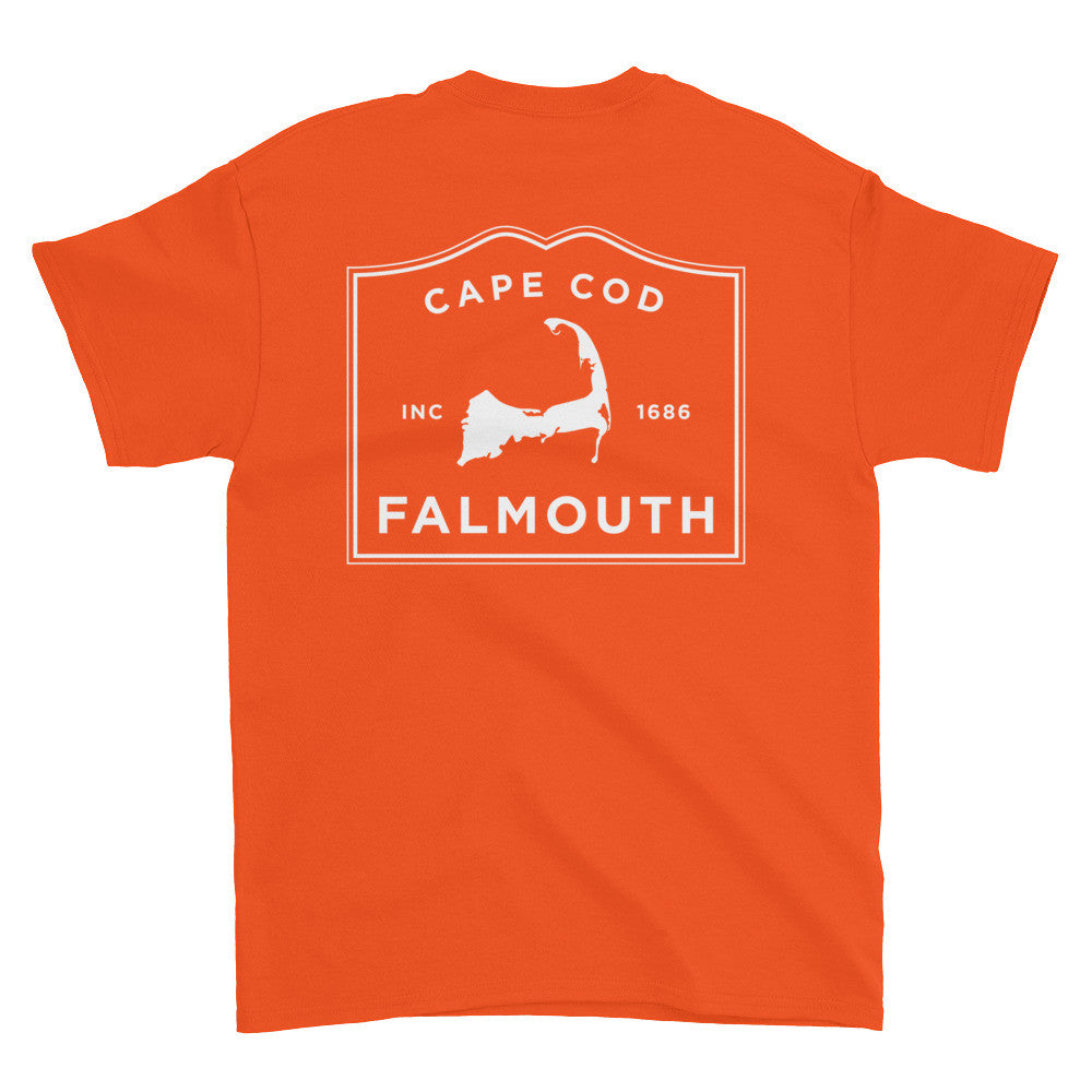 Falmouth Cape Cod Short sleeve t-shirt (front & back)