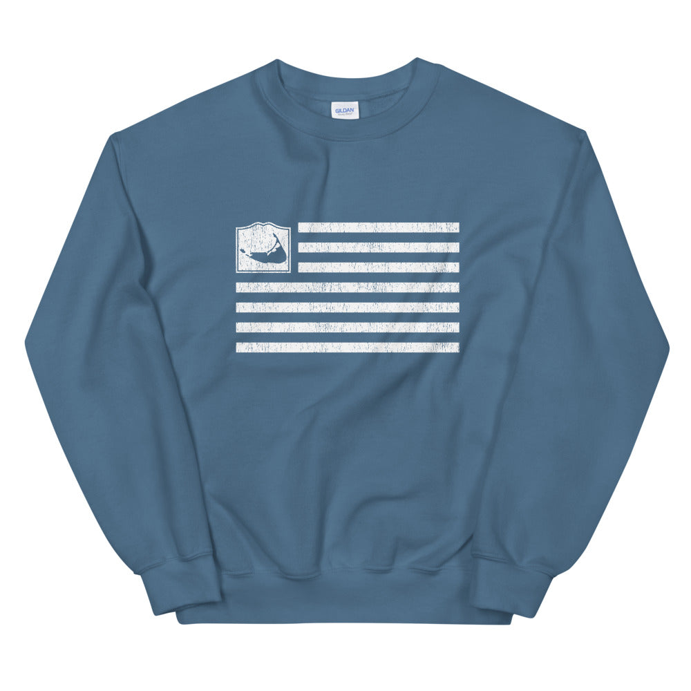 Nantucket Flag Sweatshirt