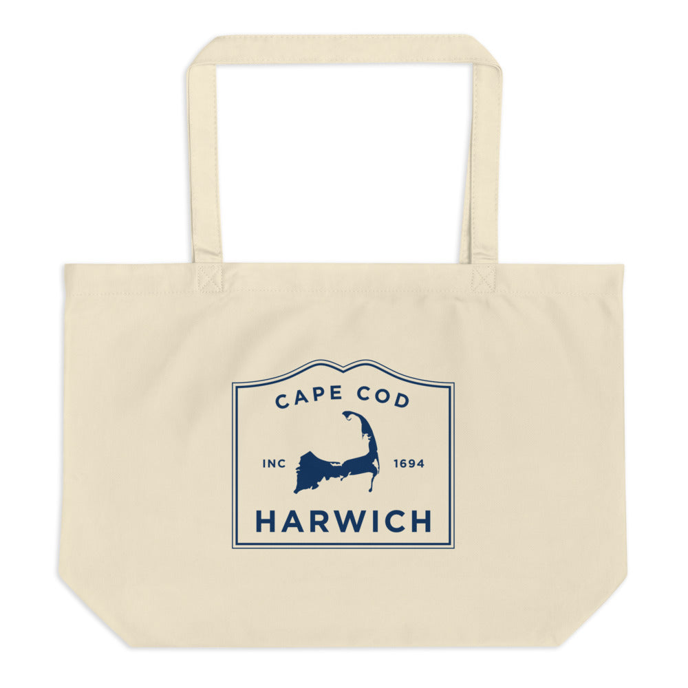 Harwich Cape Cod Large Tote Bag