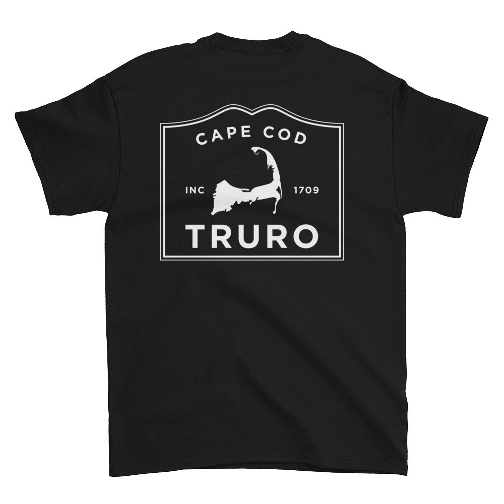 Truro Cape Cod Short sleeve t-shirt (front & back)