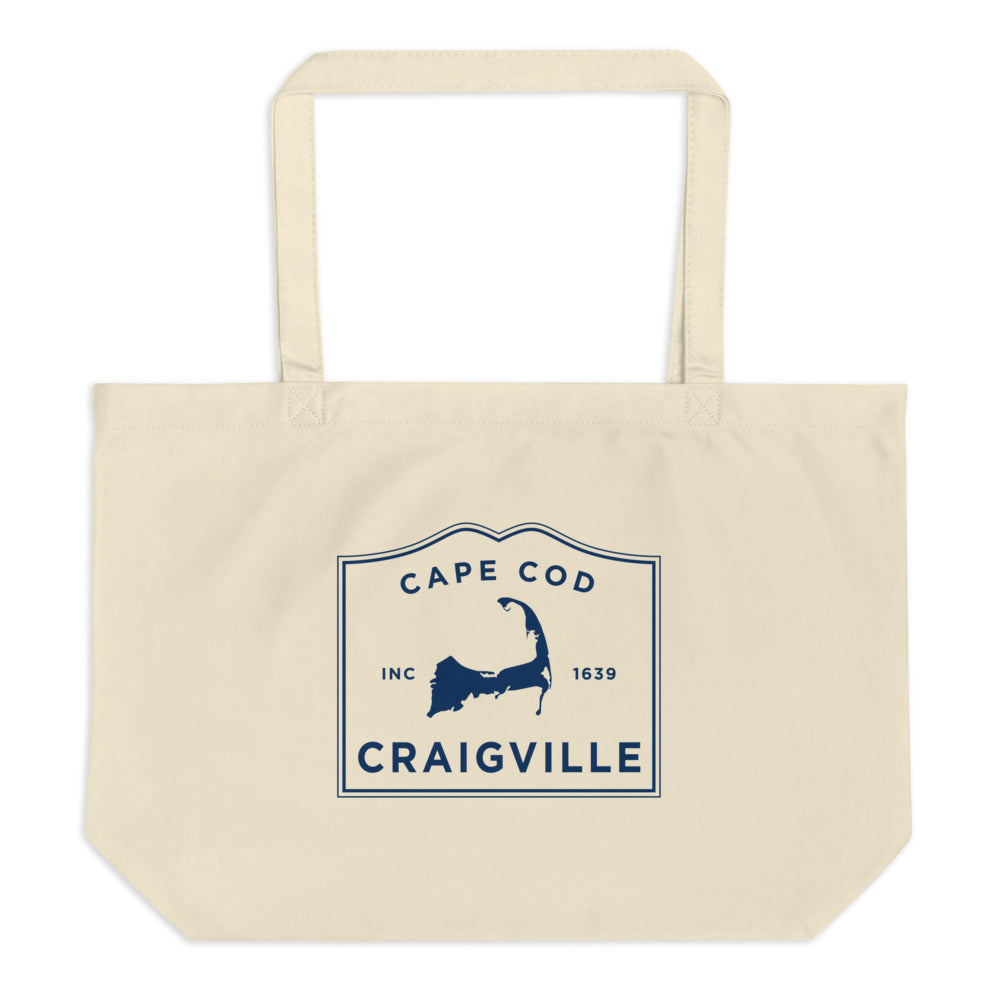 Craigville Cape Cod Large Tote Bag