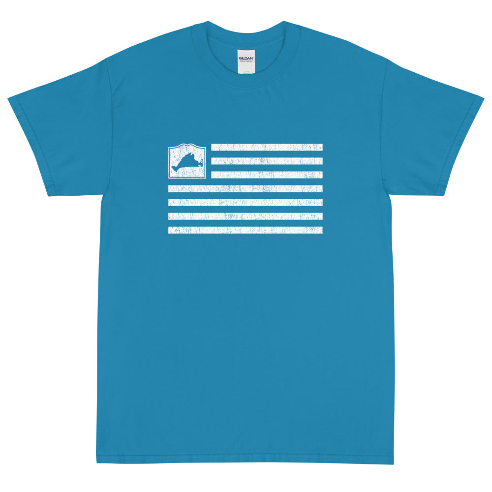 Martha's Vineyard Flag Short Sleeve T-Shirt