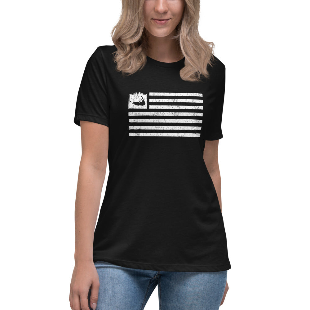Nantucket Flag Women's Relaxed T-Shirt