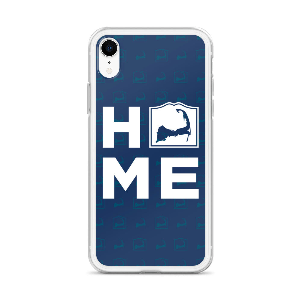 Cape Cod Home Blue iPhone Case