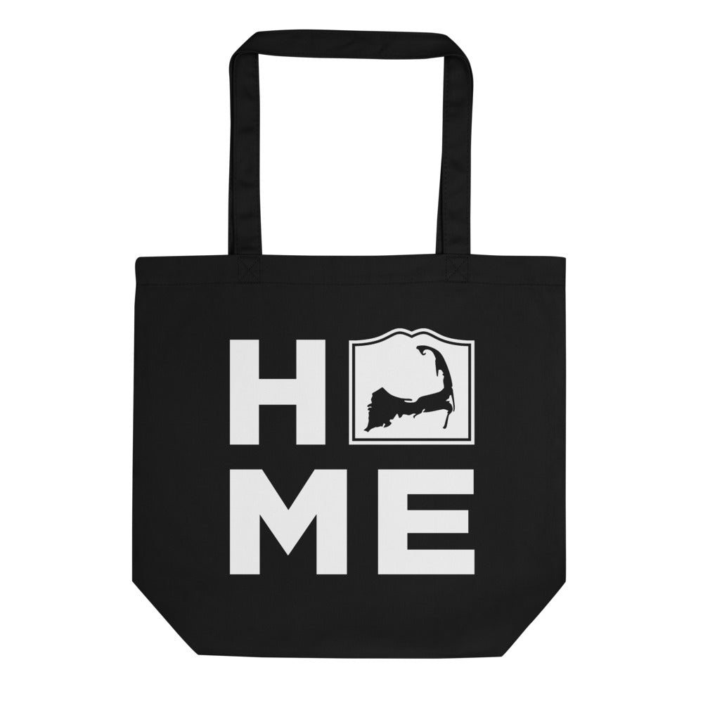 Cape Cod Home Black Tote Bag