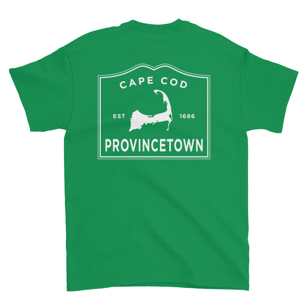 Provincetown Cape Cod Short sleeve t-shirt (front & back)