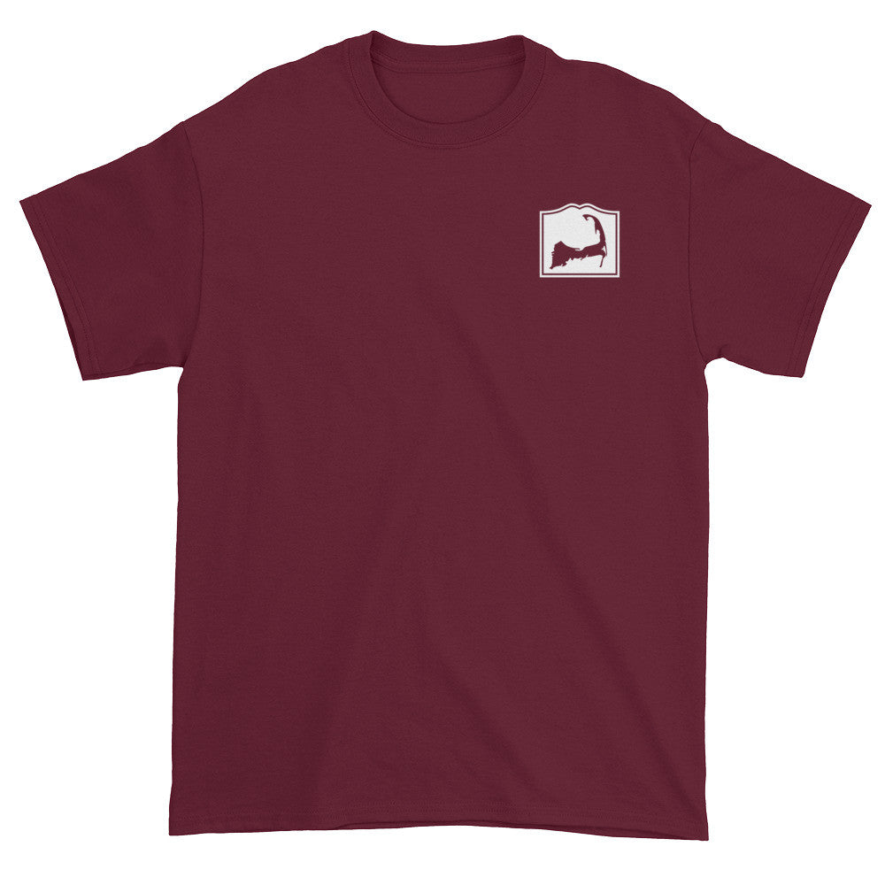 Bourne Cape Cod Short sleeve t-shirt (front & back)