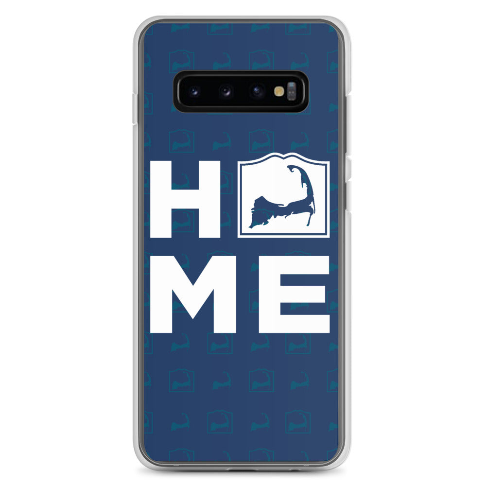 Cape Cod HOME Blue Samsung S10 Case