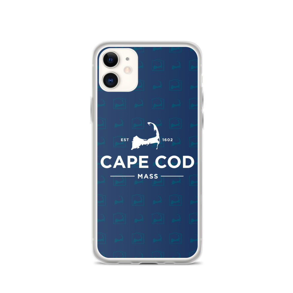 Cape Cod Mass Blue iPhone Case
