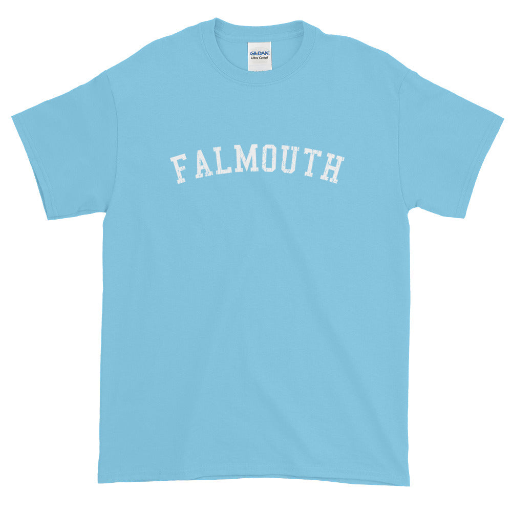 Falmouth Cape Cod Short Sleeve T-Shirt Vintage Look