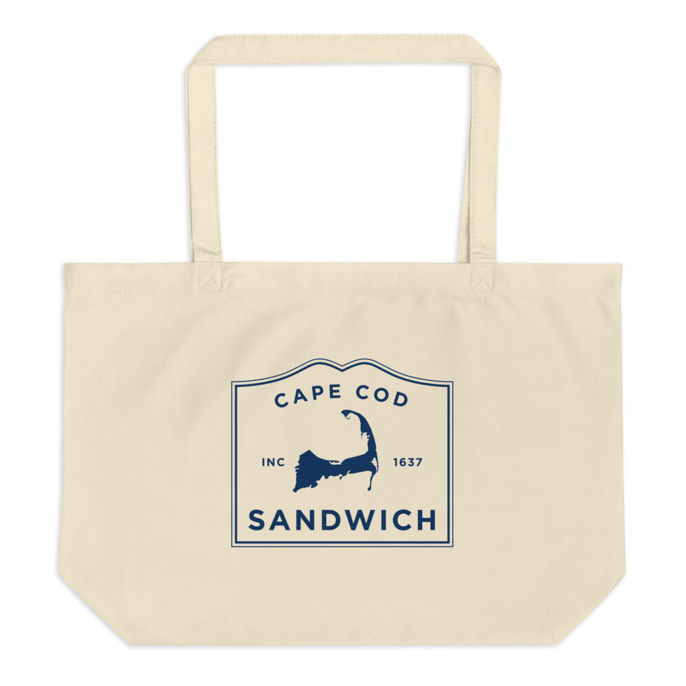 Sandwich Cape Cod Large Tote Bag