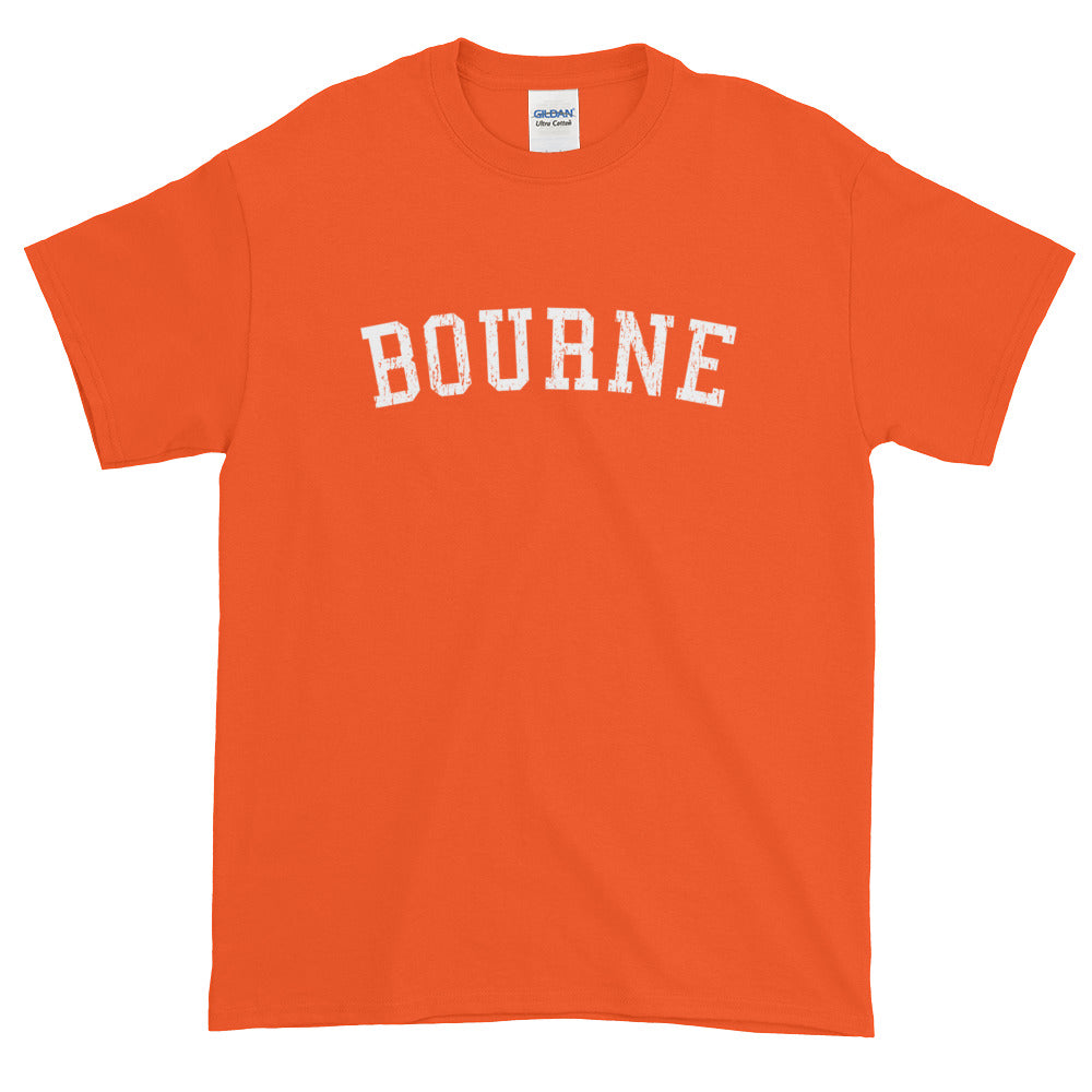 Bourne Cape Cod Short Sleeve T-Shirt Vintage Look