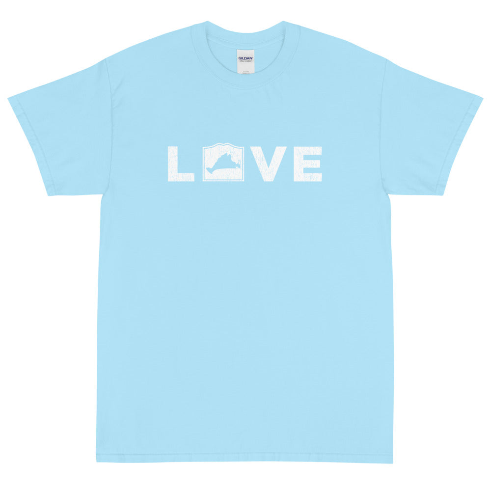 Martha's Vineyard LOVE Short Sleeve T-Shirt