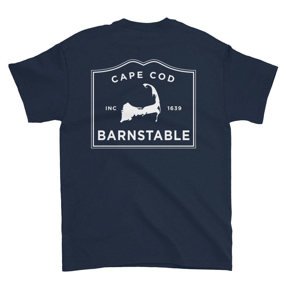 Barnstable Cape Cod short sleeve t-shirt (front & back)