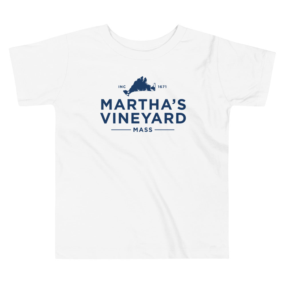 Martha's Vineyard Toddler Short Sleeve T Shirt