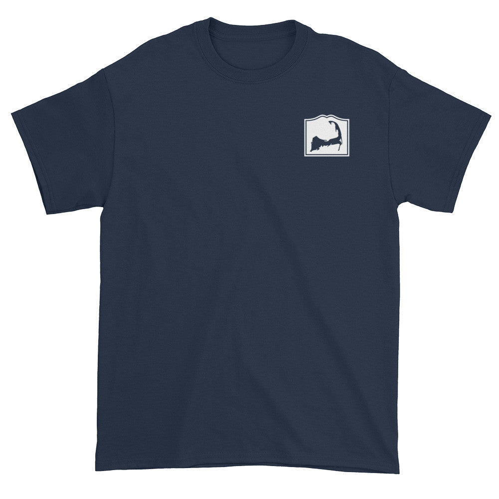 Orleans Cape Cod Short sleeve t-shirt (front & back)