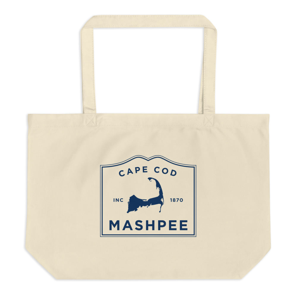 Mashpee Cape Cod Large Tote Bag