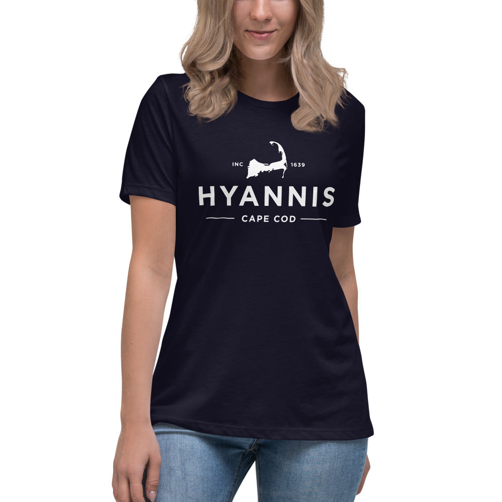 Hyannis Cape Cod Women's Relaxed T-Shirt
