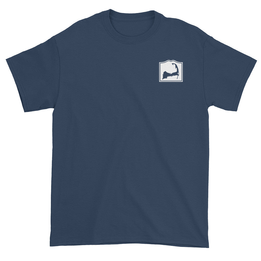 Harwich Cape Cod Short sleeve t-shirt (front & back)