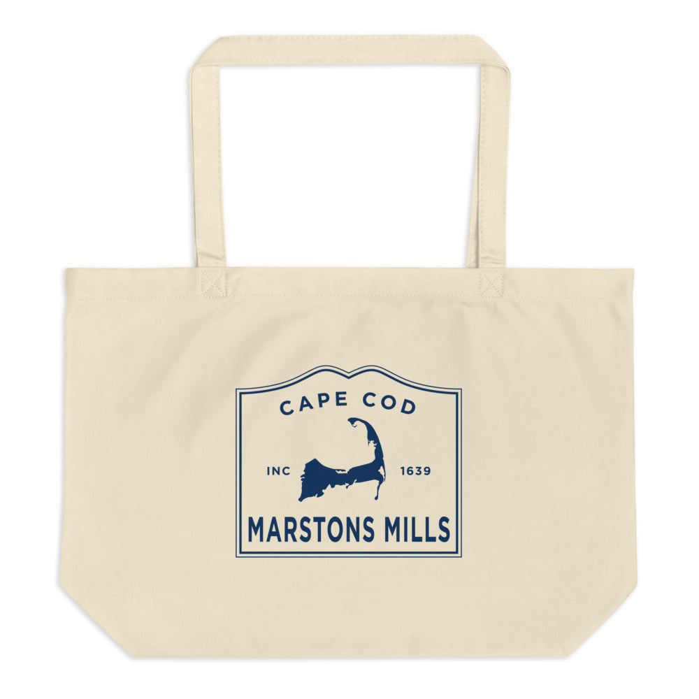 Marstons Mills Cape Cod Large Tote Bag