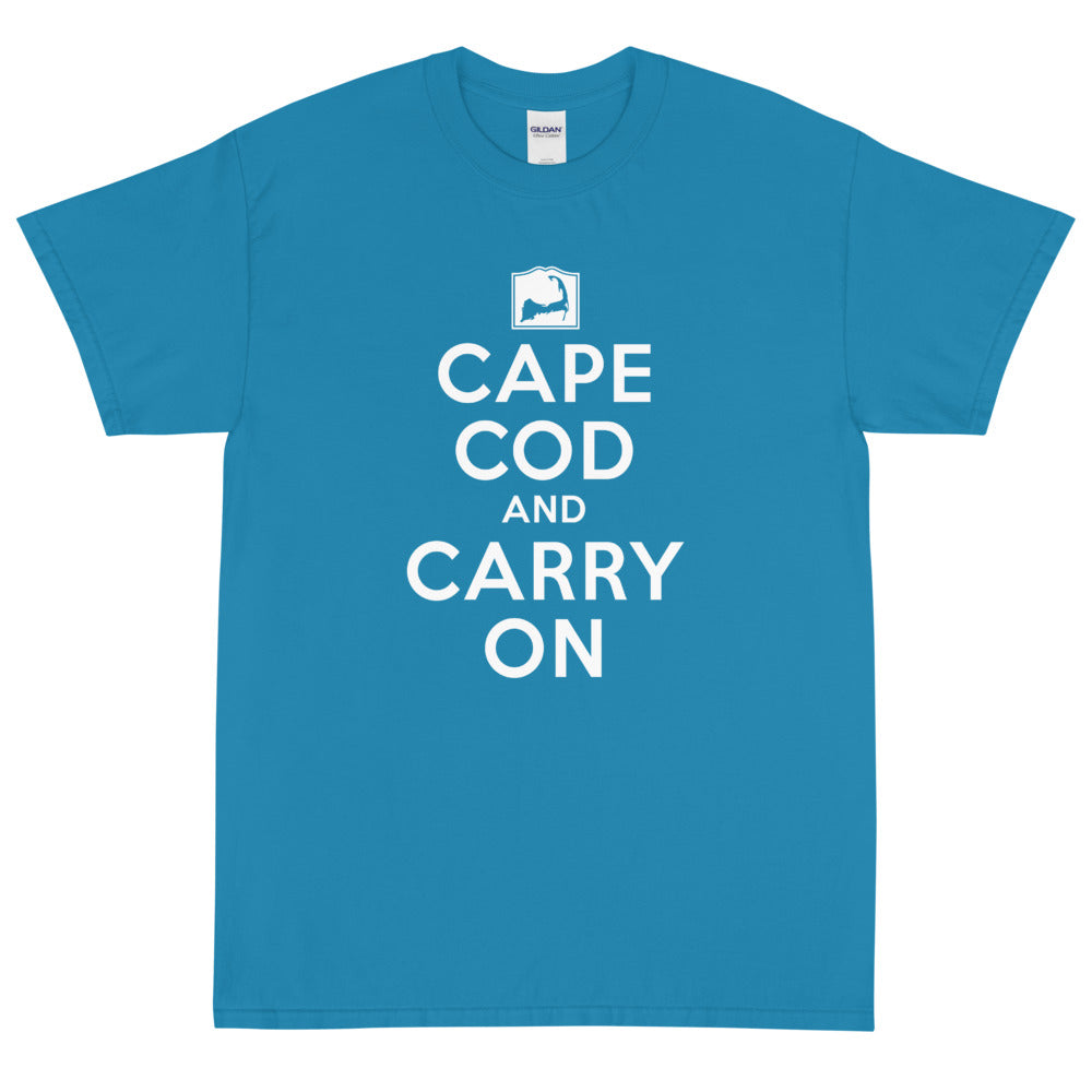 Cape Cod and Carry On Short Sleeve T-Shirt