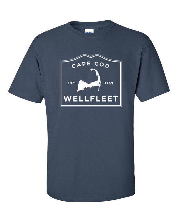 Wellfleet Cape Cod short sleeve t-shirt