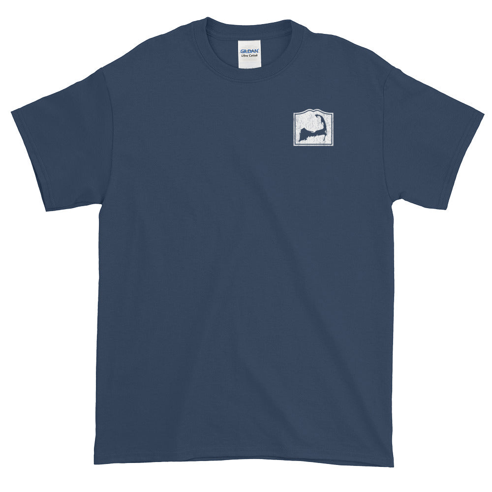 Cape Cod Mass Short-Sleeve T-Shirt (Front & Back)