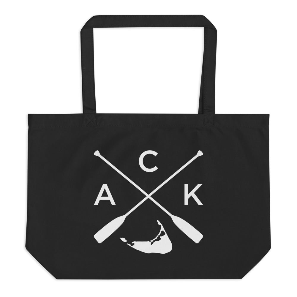 Nantucket ACK Large Tote Bag