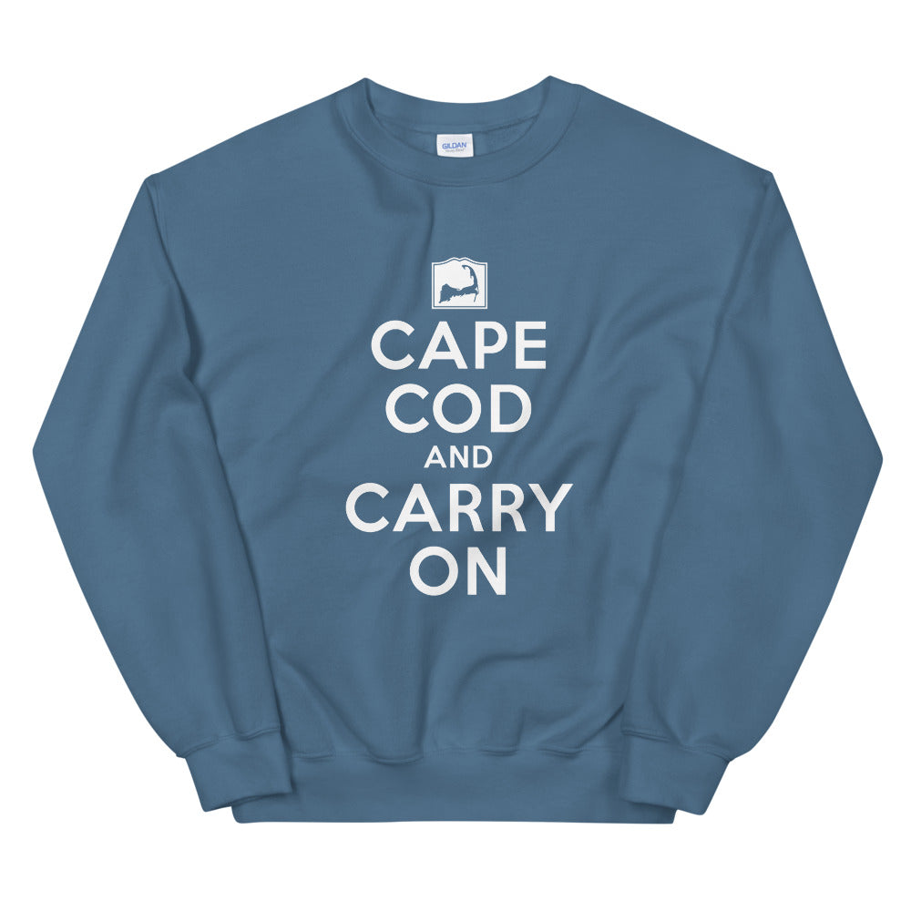Cape Cod And Carry On Sweatshirt