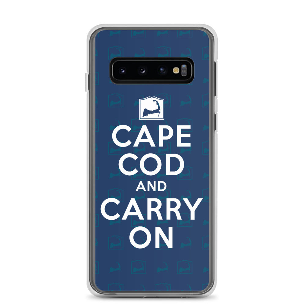 Cape Cod And Carry On Blue Samsung Case