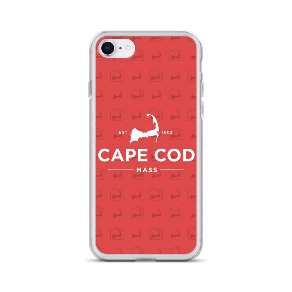 Cape Cod Mass Red iPhone Case