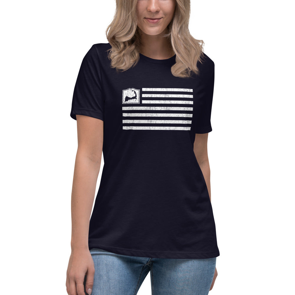 Cape Cod Flag Women's Relaxed T-Shirt