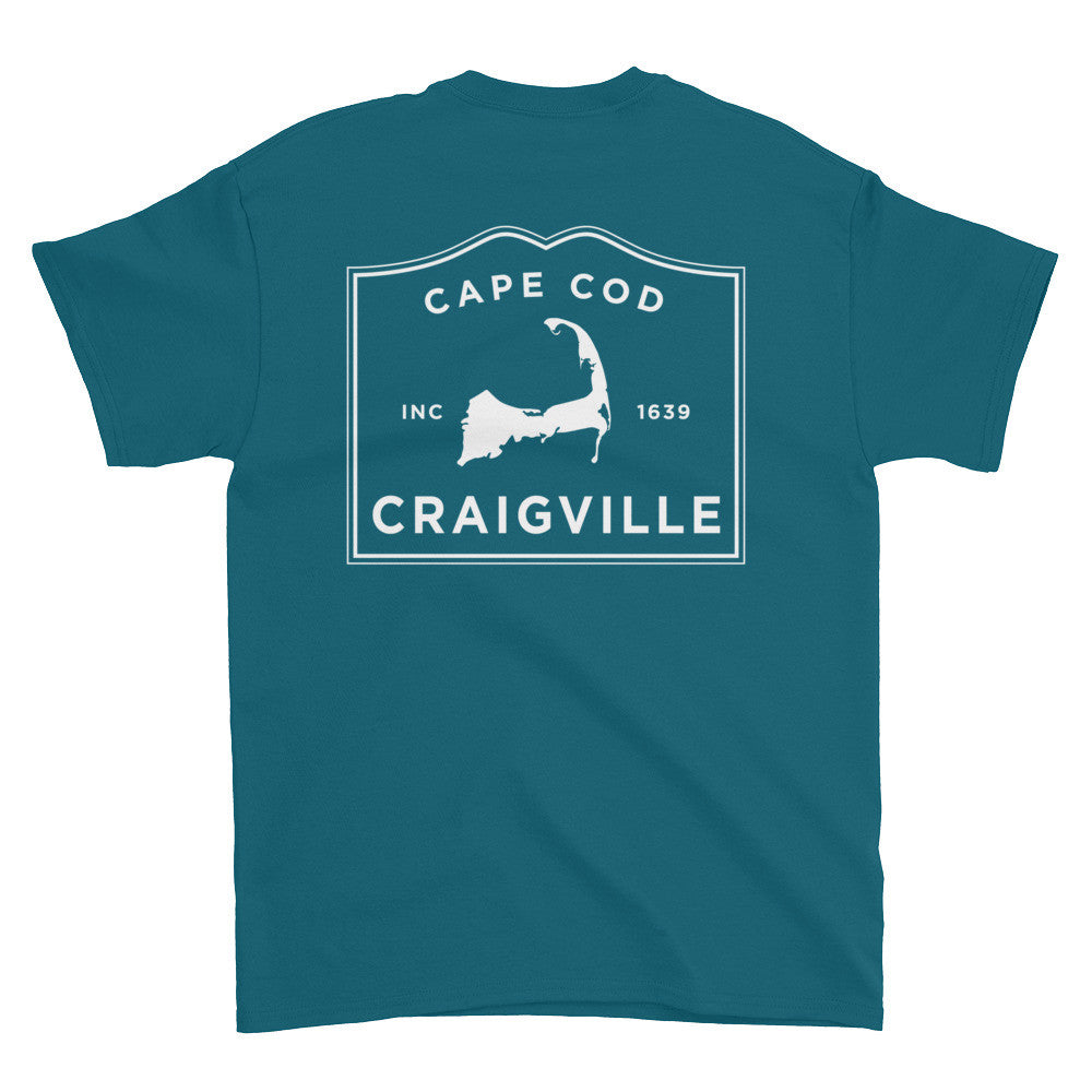 Craigville Cape Cod Short sleeve t-shirt (front & back)