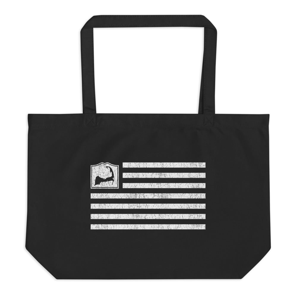 Cape Cod Flag Large Tote Bag