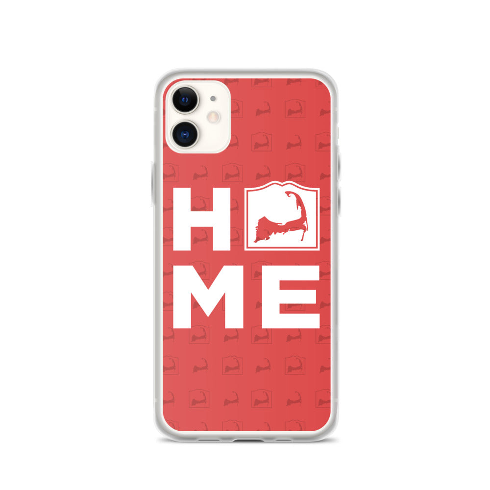 Cape Cod HOME Red iPhone Case